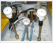 Heat treatment pit furnace