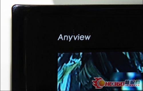 TV screen real shot