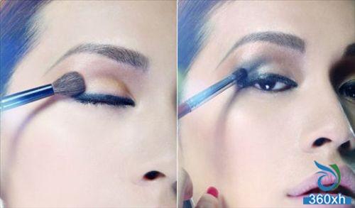 Double eyeliner makeup T station new makeup