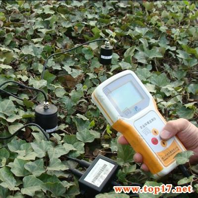 Soil moisture recorder