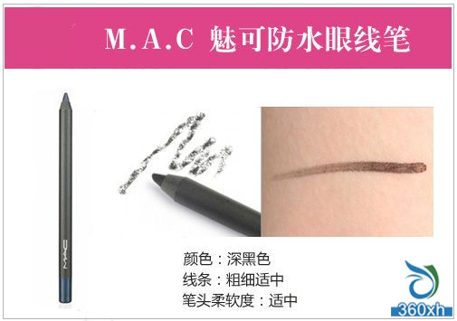 M.A.C charm waterproof eyeliner