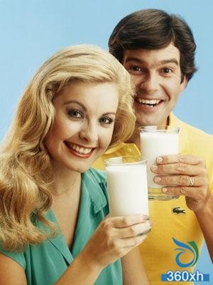 Milk treatment for skin diseases
