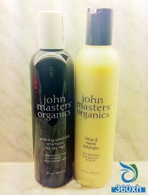 Pure plant system Johnmastersorganics wash hair care