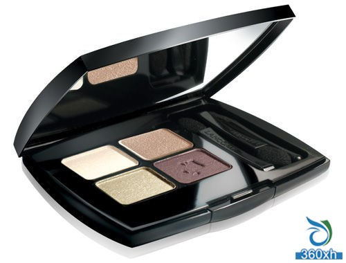 Lancome's new four-color eye shadow