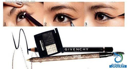 Sharpen the eyeliner