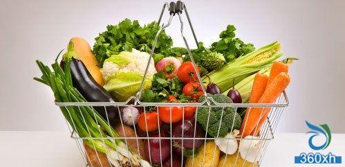 Alkaline-rich food