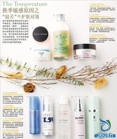 """Skin care measures for the """"temperature difference"""" of sensitive seasons"""