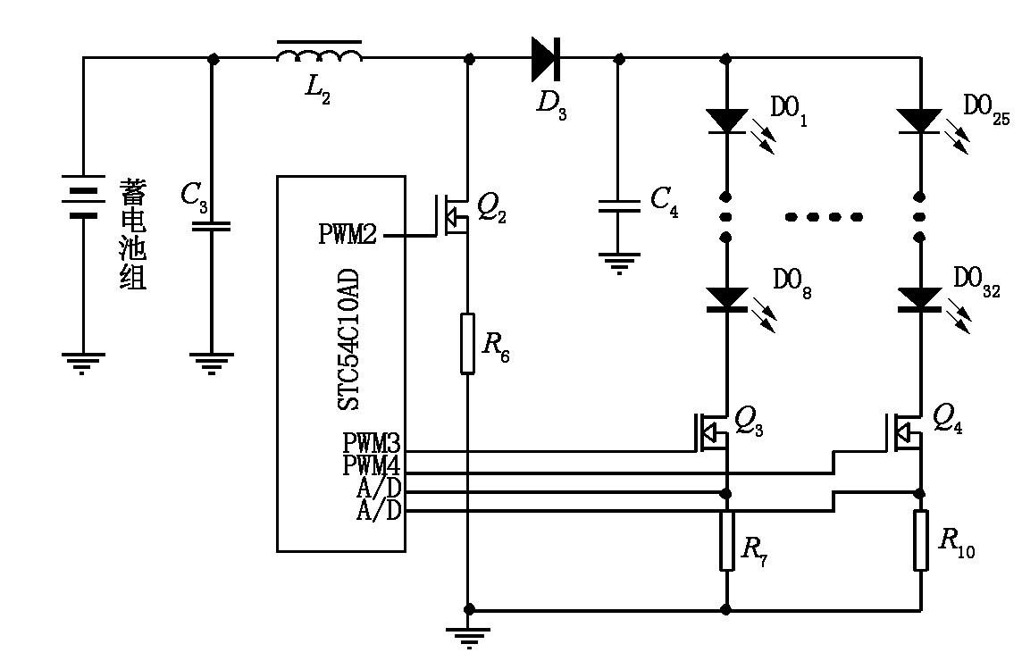 Figure 5 Boost discharge circuit