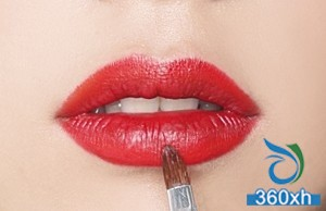 How to create vintage rich red lips