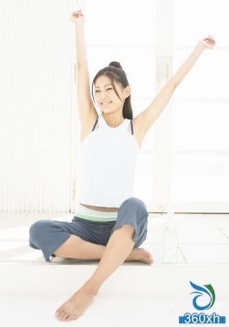 Yoga + diet breasts, plastic curve shape