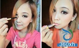 Spring day, clear and cute makeup, create oxygen beauty