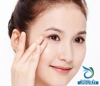 Dark circles, eye bags, eye tightening massage