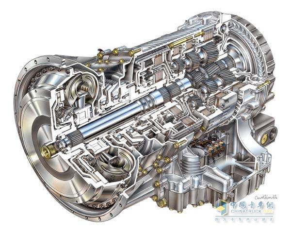 Allison 3000 automatic transmission