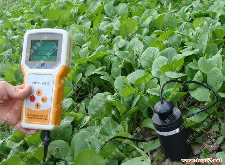 GPS soil moisture measuring instrument