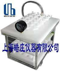 Selectivity of capacity of Shanghai Xinzhuang solid phase extraction unit