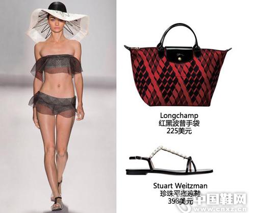 荷叶边是时尚界不死的设计元素之一