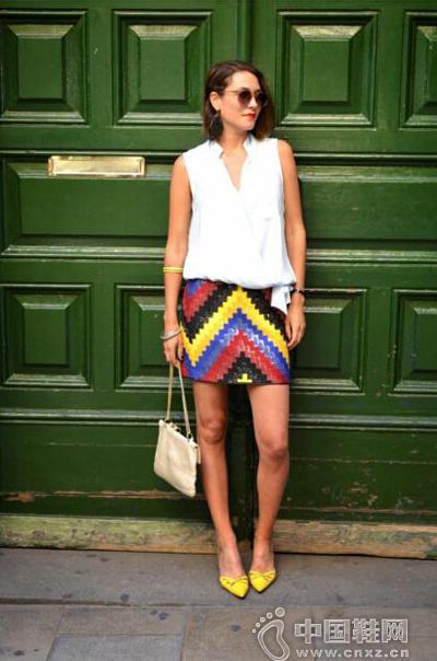 风格光谱小窄裙