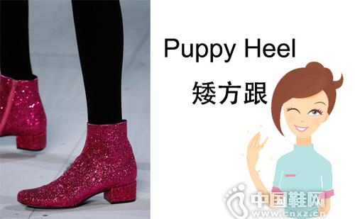 矮方跟(Puppy Heel)