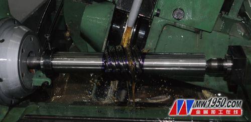 用SK7720B数控蜗杆磨床磨削蜗杆的加工案例