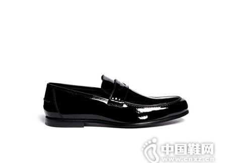 JIMMY CHOO 漆皮乐福鞋