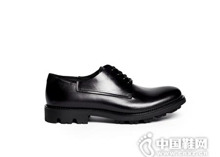 GIORGIO ARMANI 真皮系带鞋