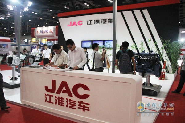 Jianghuai Navistar unveiled at the 13th China International Combustion Engine & Components Exhibition