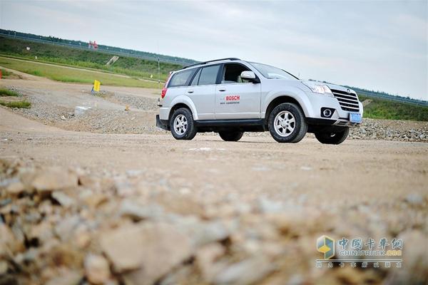 Bosch Clean Diesel Technology SUV