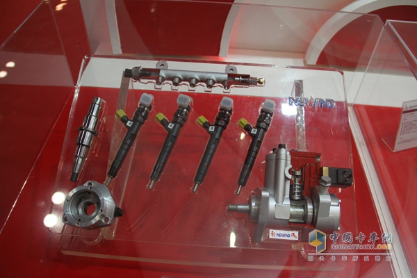 Common rails and injectors