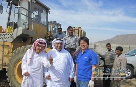 Weichai Saudi Maintenance Center