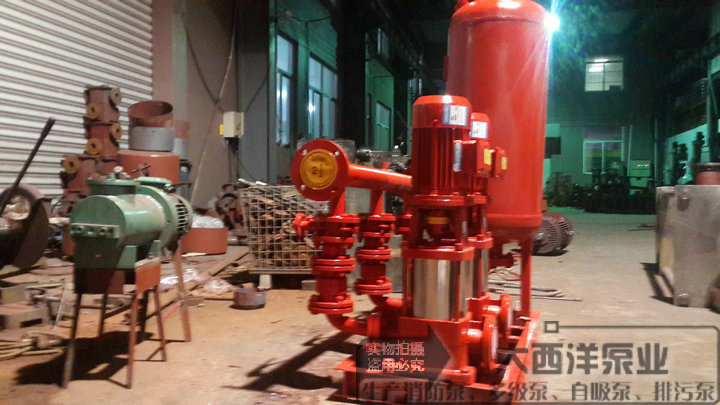 Fire pressure water supply equipment