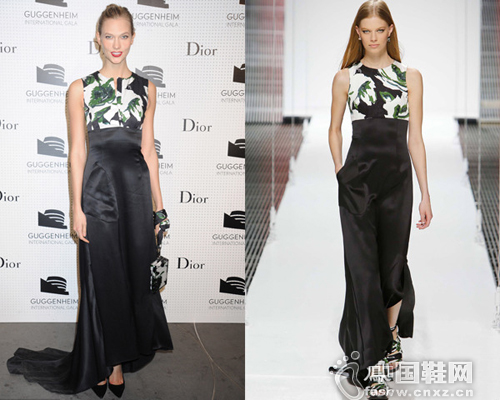 卡莉克劳斯身穿Dior 2015早春度假系列