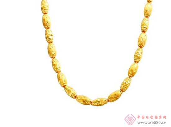 男士黄金项链