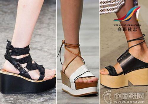 休闲厚底鞋系列