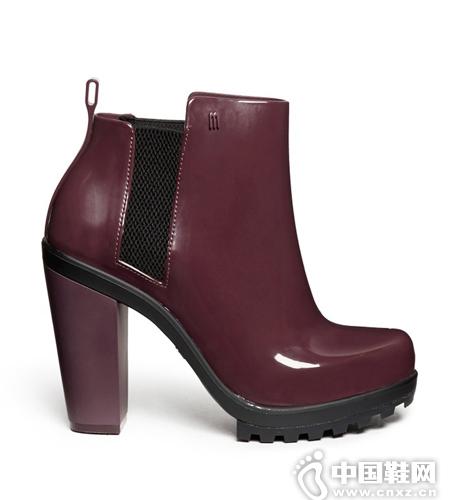 Melissa 切尔西高跟踝靴