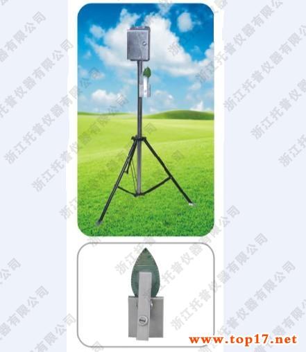 Foliage humidity recorder