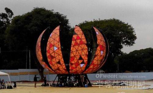 God's masterpiece: World Cup LED ball screen and the story behind it