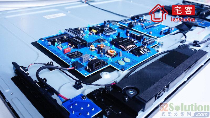 LeTV TVS50 Air disassembly diagram