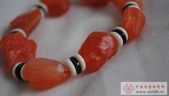 戈壁玛瑙手串