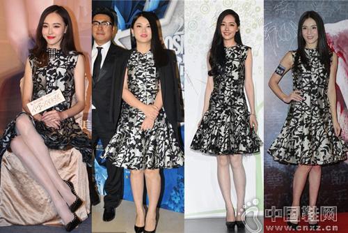 唐嫣、李湘、杨采妮和郭碧婷
