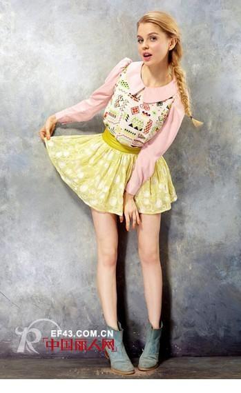雅戈美黛时尚女装 每个女孩都有自己的美丽