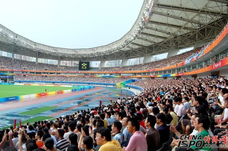 奥运会足球赛现场