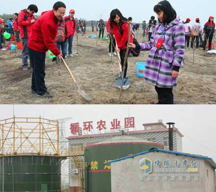 Dongfeng Cummins protects the water quality of Han River to build a biogas station project