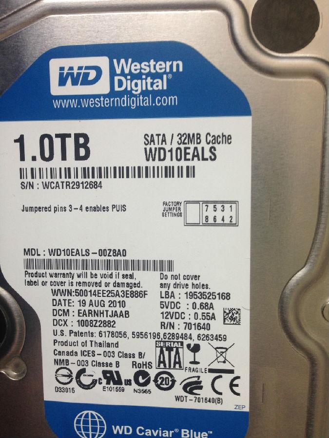 西部数据原装移动硬盘开盘数据恢复 达思科技