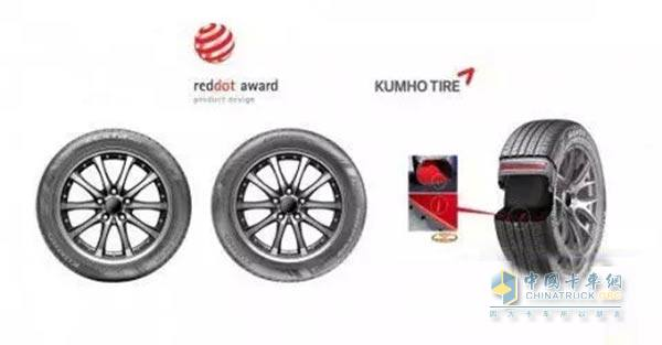 Kumho Tire Innovation Concept Picking the German Red Dot Design Award for four consecutive years