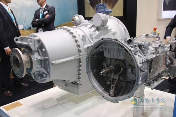 ZF Brings AS-Tronic Gearboxes to Petroleum Equipment Show