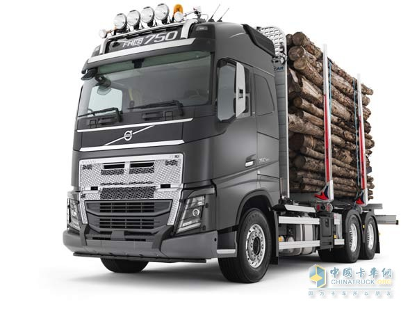 Volvo Truck with New Heavy Duty Bumper