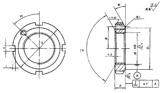 Contradiction between lock nut JB 1700.2-1991