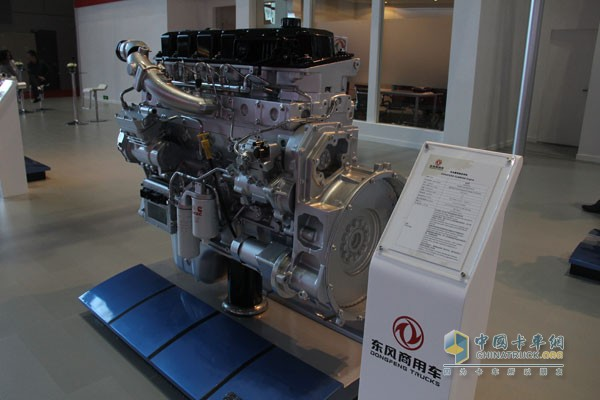 Dongfeng Cummins 13L Engine on display at the 16th Shanghai International Auto Show