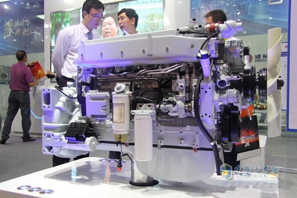 Weichai Lanqing WP10 Engine