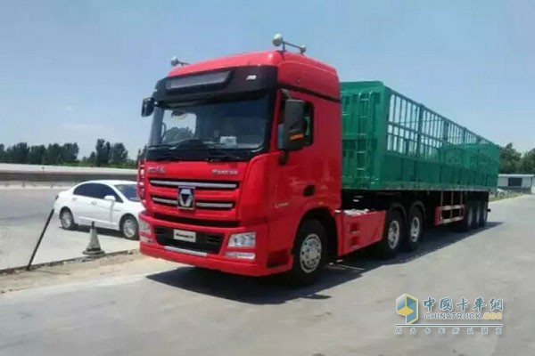 XCMG Heavy Duty Truck with Xi'an Cummins Engine
